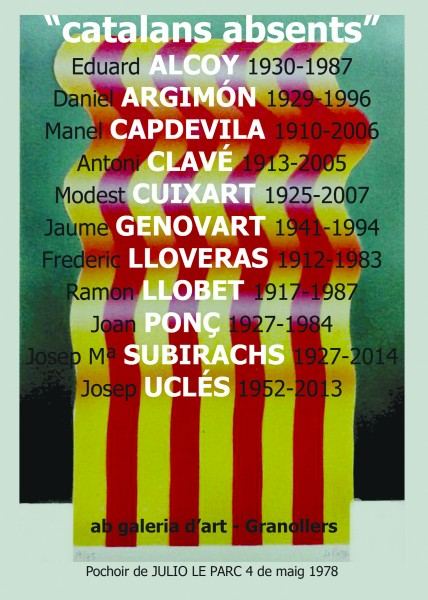 CATALANS ABSENTS_Cartell@