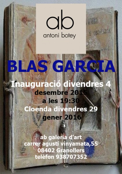Cartell Blas Garcia@